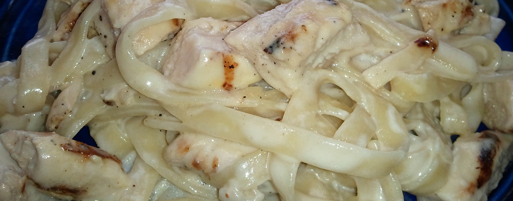 Try our mouthwatering Chicken Fettucini!